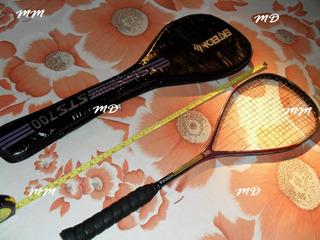 Raquete De Squash Ektelon Sts-700 Graphite!!!super Nova!!!!!