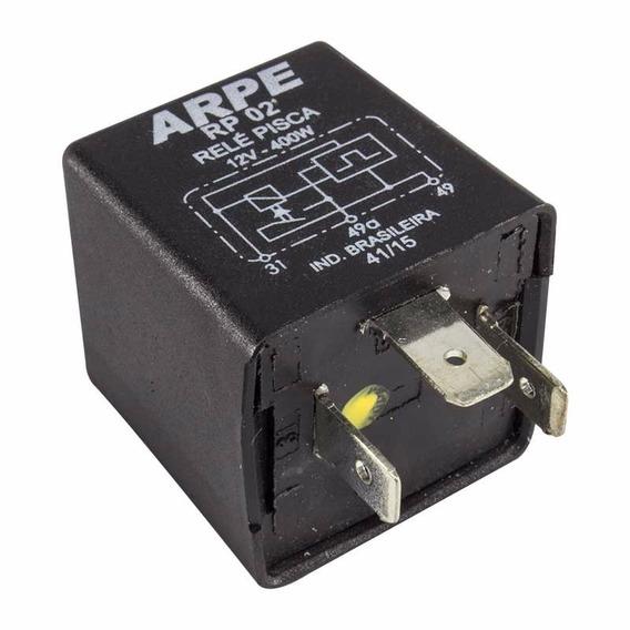 Relé De Pisca 12v 400w 3 Terminais Mini Sem Sensor
