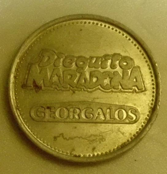 Ficha De Dieguito Maradona(golosinas Georgalos)