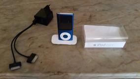 iPod Nano 4 Geração 16gb Azul - Funciona Só Ligado Na Tomada