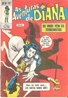 Quem Foi Nº 7 - Aventuras De Diana - Abril/1973 - Ebal