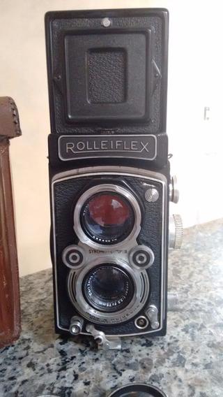 Câmera Fotográfica Antiga Rolleiflex Franke & Heidecke.