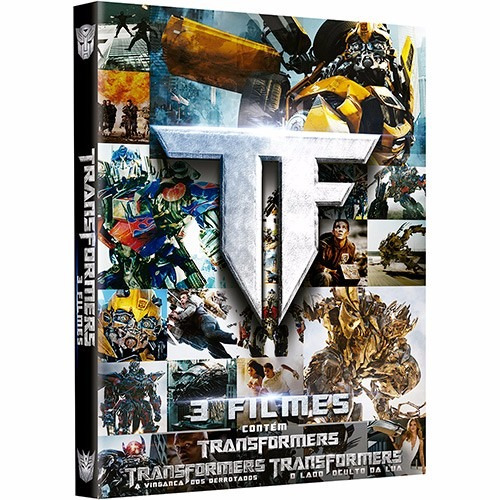 Dvds Trilogia Transformers (3 Dvds Originais) #