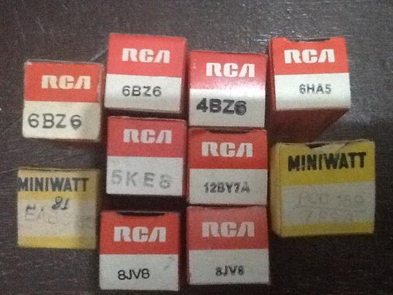Válvulas Eletronicas Novas Rca Mini Watt Novas Preço Unidade
