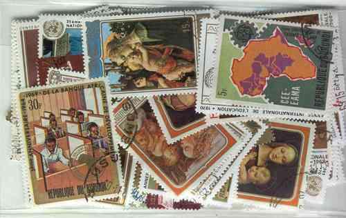 100 Estampillas Diferentes De Burundi Conmemorativas