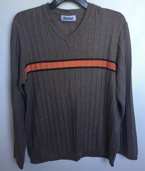 Suéter Casaco Masculino Marca Toulon Tam.p