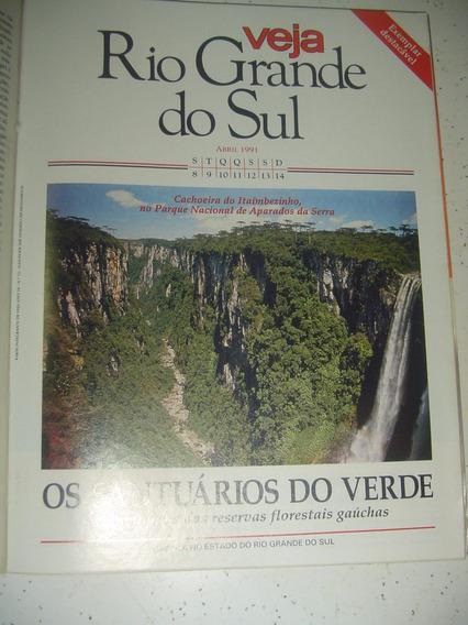 Caderno Veja Rs Cambará Do Sul Itaimbezinho Vasco Prado 1991