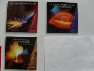 Aula De Joyeria - (tecnicas-color-modelado Fundicion)- 3 Vol