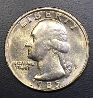 Moneda De Canada 1985 25 Cents - Monedas en Mercado Libre México
