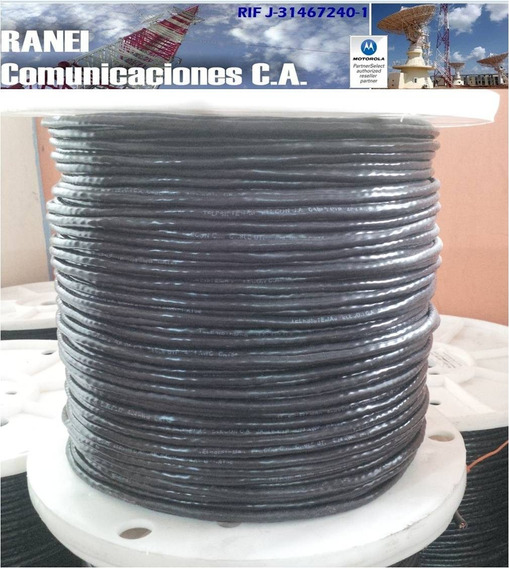 Cable Utp Cat5 100% Cobre 305m 4 Pares Exterior Negro