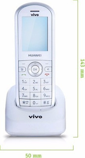 Telefone Sem Fio De Chip Huawei Fc612e Operadora Vivo Bloq