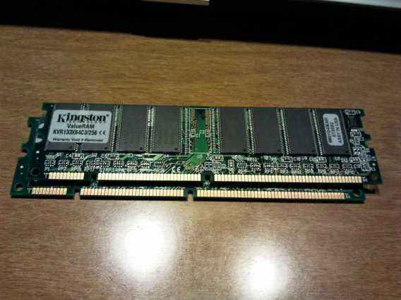 Dimm Kingston Kvr133x64c3/256 Kvr 256 Mb Ram Baja Densidad