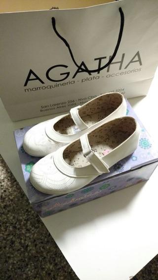 Zapatos Blancos Para Fiesta Y Comunion
