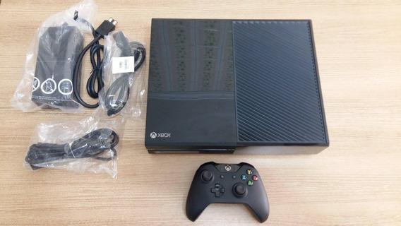 Xbox One 500gb Em Ótimo Estado Com 1 Controle E Garantia !!!