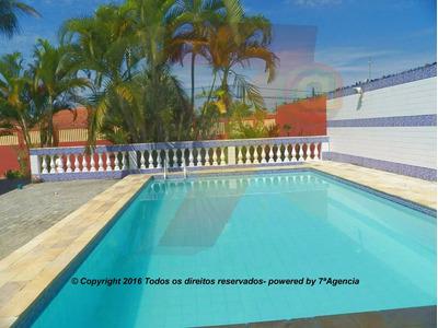 Ch273 Casa Em Itanhaem 4 Quartos Piscina Churrasqueira