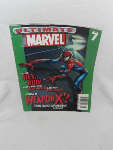 Imagen 1 de 1 de Ultimate Marvel Magazine No. 7. 2001