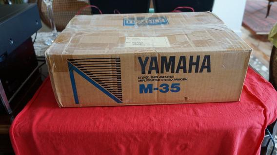 Amplificador Yamaha M35 Na Caixa