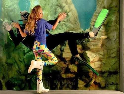 Calza Para Gimnasia - Danza -ballet -baile-murga -patín