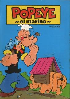 Revista Popeye 12 - 1988 Coleccion Baby Comics