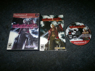 Devil May Cry 3 Completo Para Play Station 2,excelente Titul