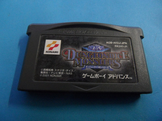 Dungeondice Monsters Original Japo Nintendo Gameboy Gba Ok