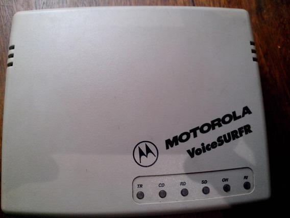 Modem Externo Motorola Voicesurf 56k