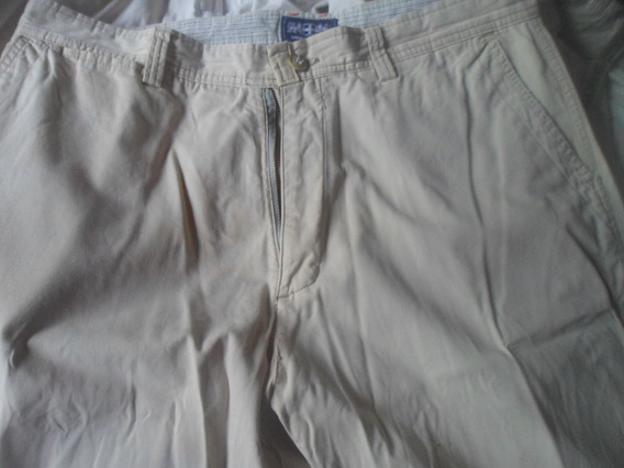 Pantalon Pinzado De Hombre Talle 47 Color Beige .