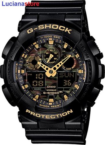 Reloj Casio G-shock Ga-100cf-1a9-100% Original Y Nuevo  Ztr