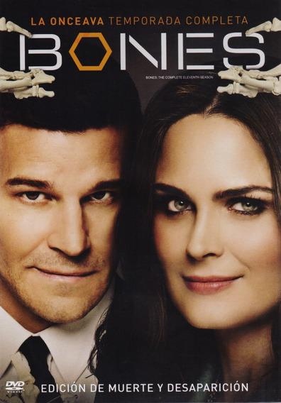 Bones Huesos Onceava Temporada 11 Once Dvd