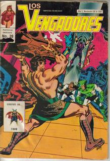 Los Vengadores Comics (novedades) $80.00 (1981)