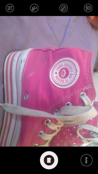 Zapatillas Originales Como Quieres Mujer Rosadas Con Muy Poc