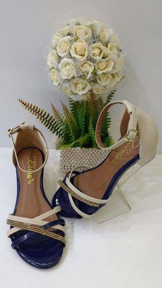 Sandalias De Saltinhos Novas