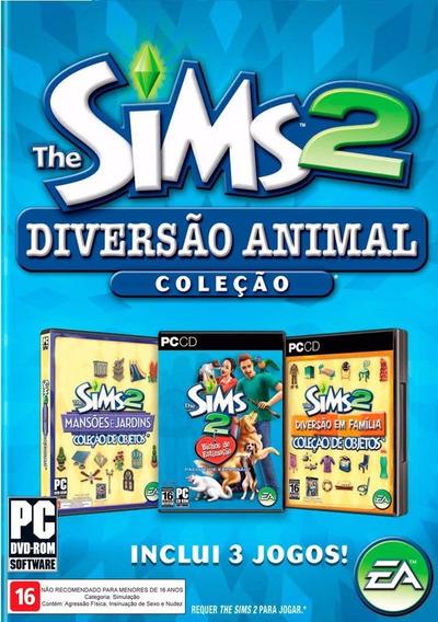 The Sims 2 Diversão Animal Coleção