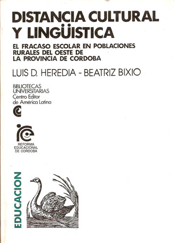Distancia Cultural Y Lingüìstica - Ceal - 1991