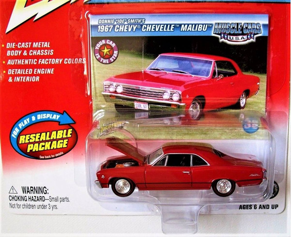 1967 Chevy Chevelle Malibu Musclecars Johnny Lightning 1/64