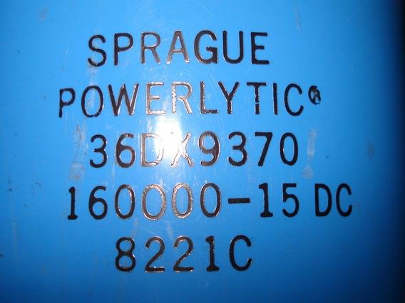 Capacitor 160000uf X 15 Volts Marcas Mepco Y Sprague