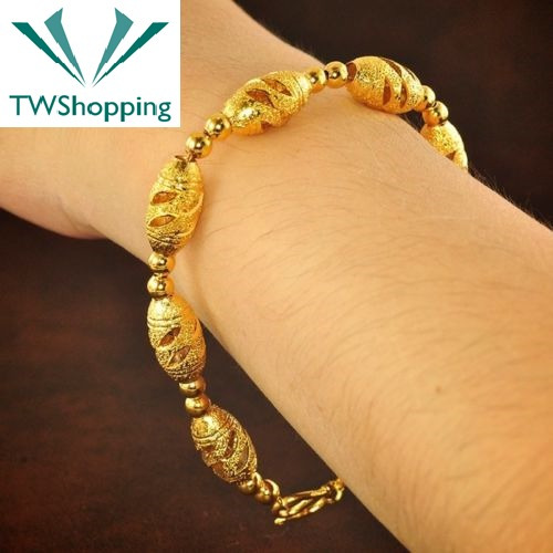 Tw Pulseira Tailândia Ouro 24k