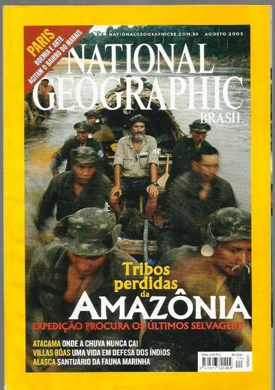 637 Rvt- 2003 Revista- Nat Geografic Br- Ago 40- Amazônia
