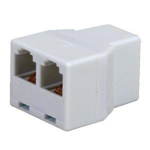 Adaptador De Teléfono Audiovox Tp270whr Rca Teléfono Duplex