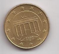 Italia Moneda De 10 Cent De Euro Año 2002 D !!!!