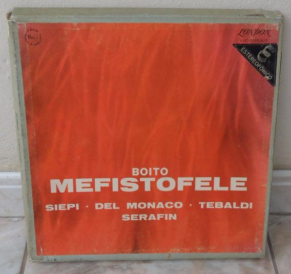 Boito Mefistofele-box 3 Lp-estéreo(colecionador-mg)