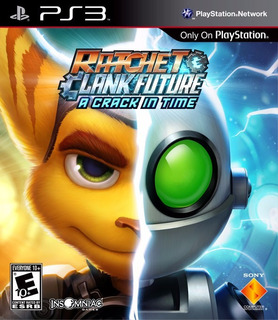 Ratchet & Clank Future A Crack In Time Ps3 Digital Gcp