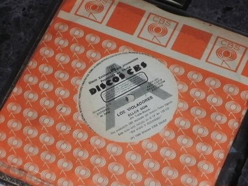 Los Violadores Simple 7  Argentina Promo Vinilo Punk 1990 1°