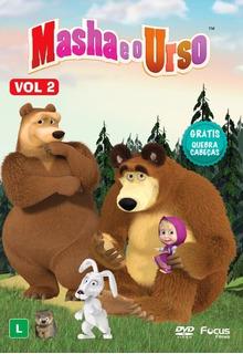 Masha E O Urso Vol.2 - Dvd Original - Grátis Quebra-cabeças