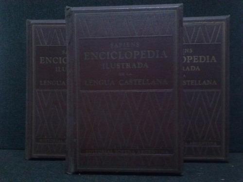 Enciclopedia Ilustrada De La Lengua Castellana 3 Tomos