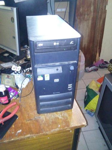 Cpu Hp Amd Athlon 3 Ghz, Memoria 2gb E Hd De 160gb