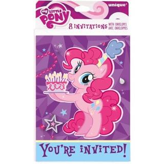 Mi Pequeño Pony 8ct Invitaciones