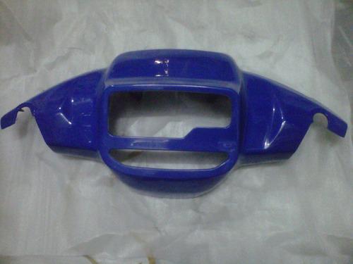 Cubre Optica Superior Yamaha Crypton Azul Plastico A Tambor