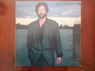 Eric Clapton August Lp Vinilo Brasil .