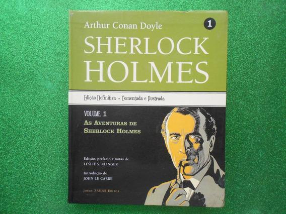 Livro Arthur Conan Doyle -scherlock Holmes Vlume 01